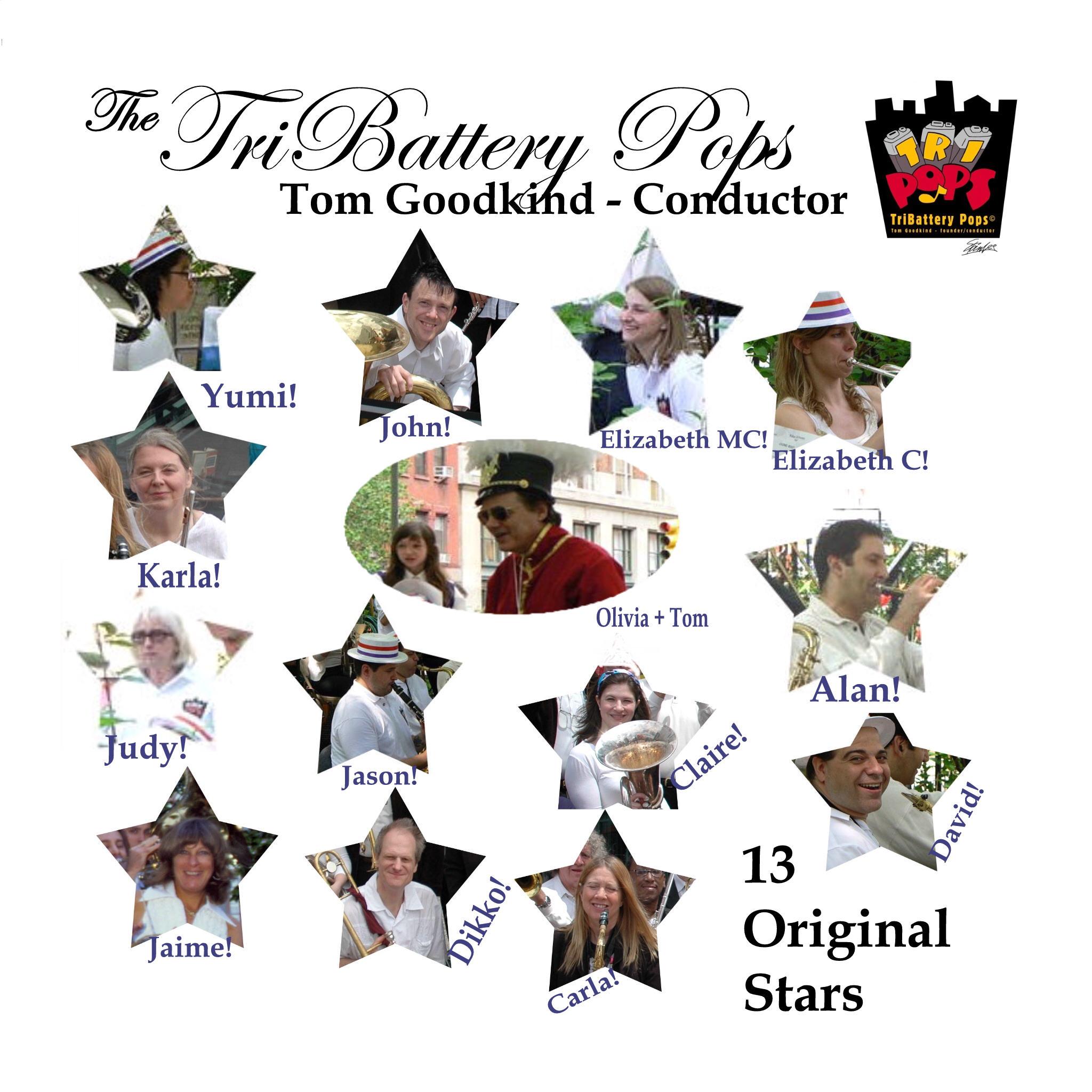 """Album cover """"13 Original Stars"""""""