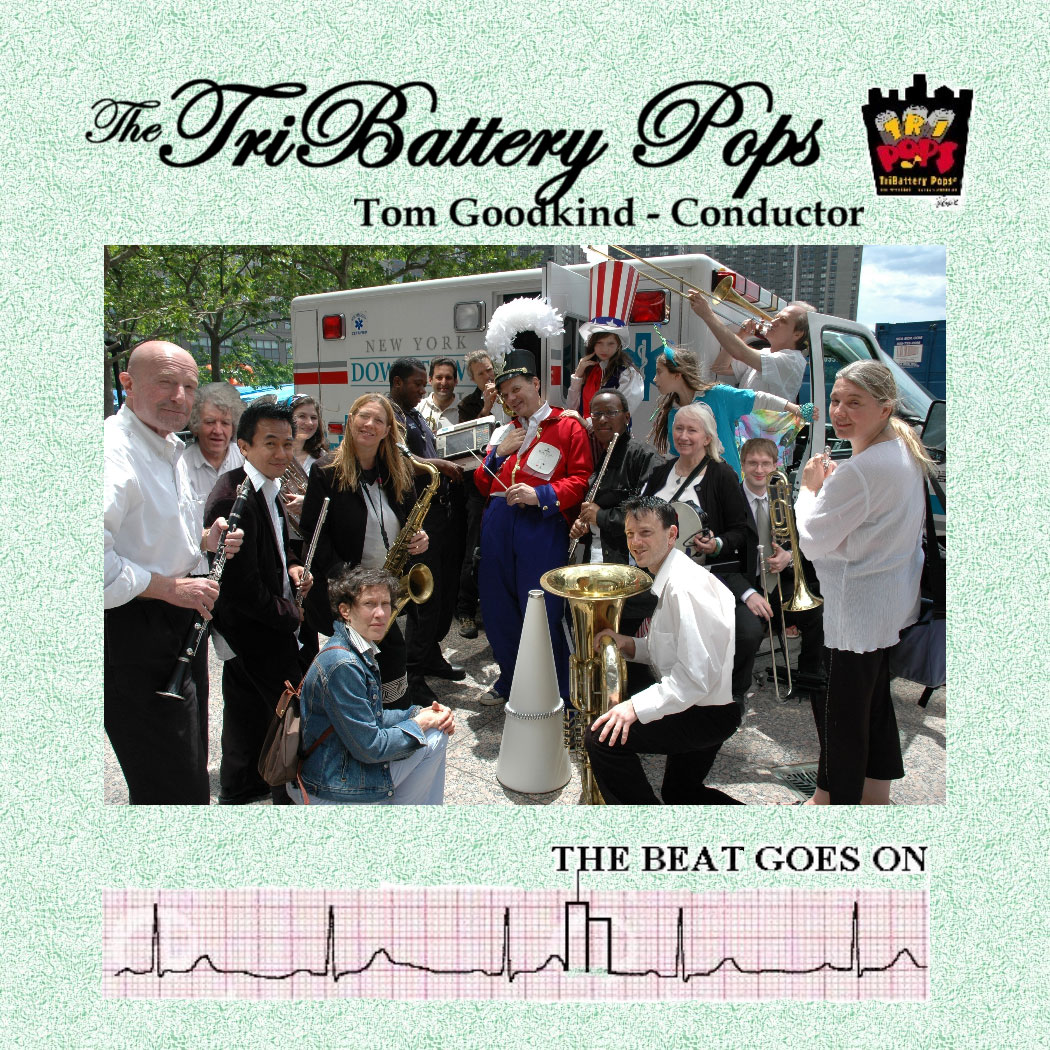 "Album cover ""The Beat Goes On"""